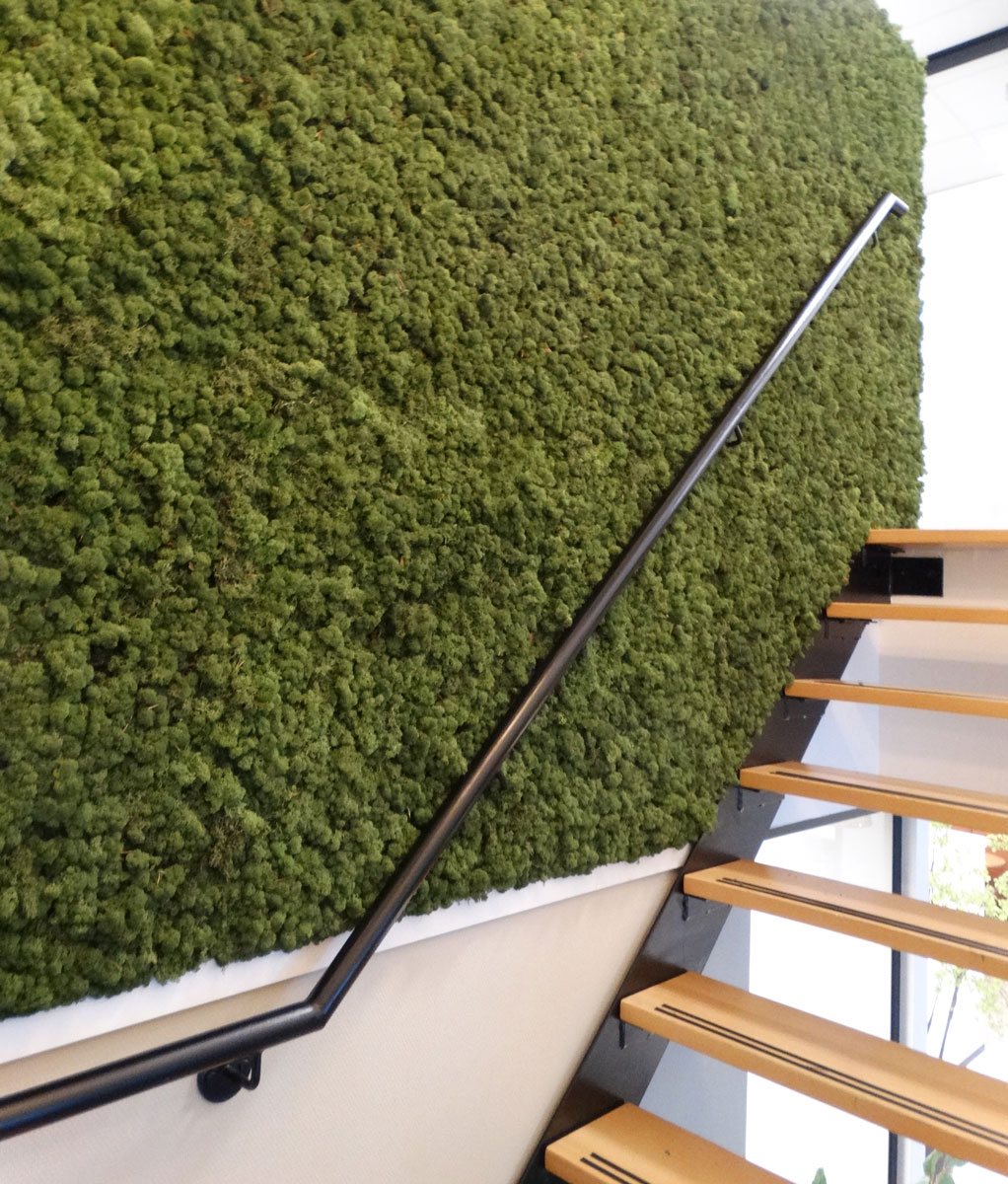 Living green entree kantoor Hengelo