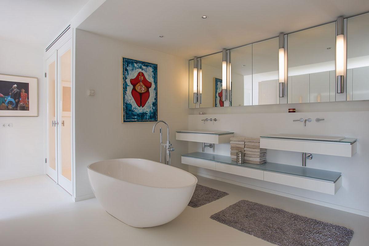 Penthouse Enschede badkamer