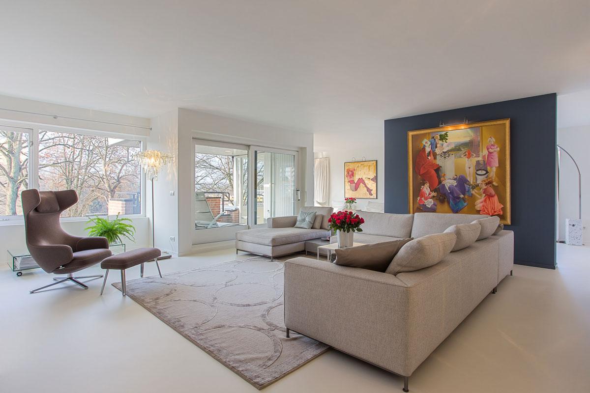 Penthouse Enschede Living